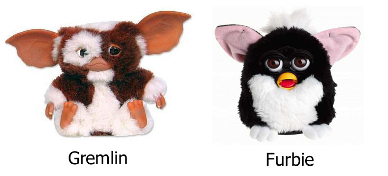 the toy that cried furbie