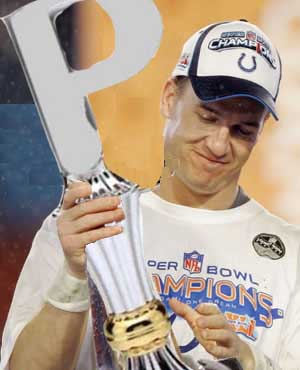 """Look at me, I'm Peyton Manning. I just won a Super Bowl so I'm cool now."